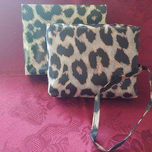 Sachi Foldable Tote Cheetah Bag Insulated